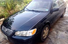Nigeria Used Toyota Camry 2001 Black Sedan for Sale