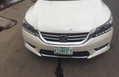 Nigeria Used Honda Accord 2014 Model White for Sale