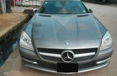 Neat Foreign used Mercedes-Benz SLK Class 2012 Beige