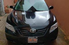 Neat Nigerian used Toyota Camry 2009 Black