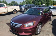 Foreign Used Honda Accord 2012 2.0 Estate Automatic Red