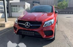 Neat Foreign used Mercedes-Benz GLE-Class 2017 Red