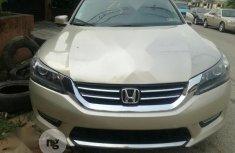 Tokunbo Honda Accord 2013 Model Gold