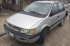 Neat Nigerian used Mitsubishi Spacewagon 1999 Silver