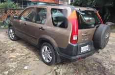 Neat Nigerian used Honda CR-V 2003 2.0i ES Automatic Brown