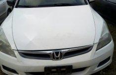 Neat Nigerian used Honda Accord 2.4 Exec Automatic 2007 White