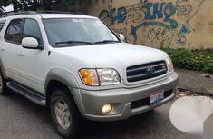 Foreign Used Toyota Sequoia 2004 Model White