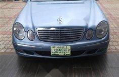 Nigerian Used Mercedes-Benz E320 2005 Blue