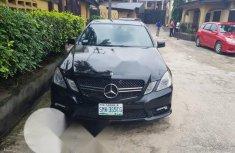 Nigerian Used Mercedes-Benz E550 2010 Black