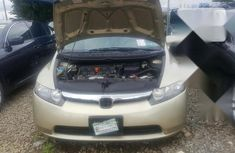 Very Clean Foreign used Honda Civic 2008 Gold