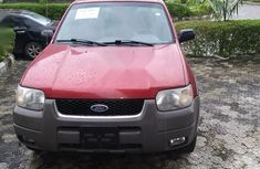 Foreign Used Ford Escape 2001 Red
