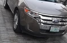Nigeria Used Ford Edge 2013 Model Brown