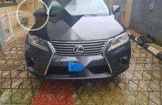 Very Clean Nigerian used Lexus RX 2014 350 FWD Gray