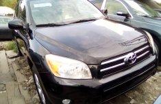 Toyota RAV4 2008 Model Foreign Used Black SUV