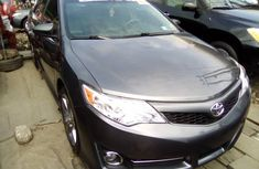 Foreign Used Toyota Camry 2013 Model Black for Sale
