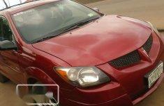 Nigerian Used Pontiac Vibe 2004 Red