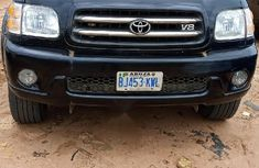 Very Clean Nigerian used Toyota Sequoia 2002 Black