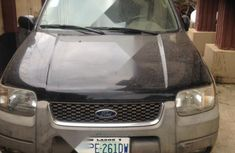 Nigeria Used Ford Escape 2001 Black