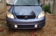 Foreign Used Toyota Matrix 2004 Blue