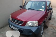 Foreign Used Honda CR-V 2001 2.0 Red