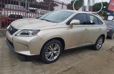 Tokunbo Lexus RX 2013 350 FWD Gold
