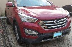 Nigeria Used Hyundai Santa Fe 2014 Model Red
