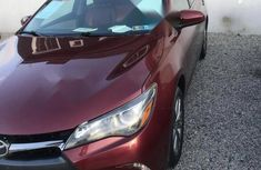 Foreign Used Toyota Camry 2015 Red