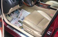 Tokunbo Lexus GS 350 2007 Model  Sedan Red