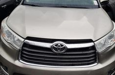Foreign Used Toyota Highlander 2014 Brown