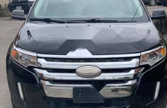 Foreign Used Ford Edge 2012 Black