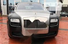 Very Clean Foreign used Rolls-Royce Ghost 2015 Black