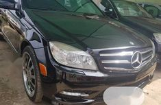 Very Clean Foreign used Mercedes-Benz C350 2009 Black