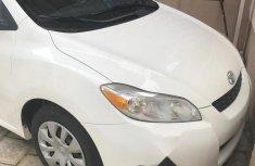 Tokunbo Toyota Matrix 2010 White