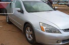 Very Clean Nigerian used Honda Accord 2005 Automatic Silver