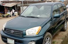 Nigeria Used Toyota RAV4 2003 Model Green