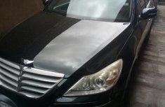Neat Foreign used Hyundai Genesis 2011 4.6 Black