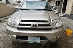 Nigeria Used Toyota 4-Runner Limited V6 2006 Gold