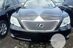 Foreign Used Lexus LS 2008 460 Black