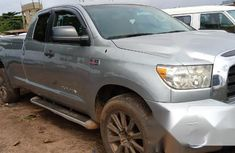 Very Clean Nigerian used Toyota Tundra 2008 Gray