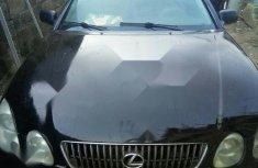 Nigeria Used Lexus GS 2002 Model Black