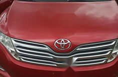 Foreign Used Toyota Venza V6 2009 Red