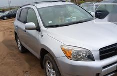 Very Clean Nigerian used Toyota RAV4 2008 Limited Silver