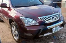 Very Clean Foreign used Lexus RX 2005 330 Red