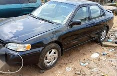 Very Clean Nigerian used Toyota Corolla 1998 Black