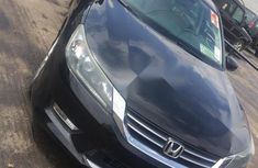 Tokunbo Honda Accord 2014 Black