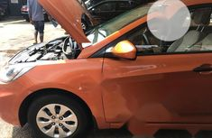 Very Clean Foreign used Hyundai Accent 2015 Orange