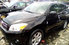 Toyota RAV4 2008 Model Foreign Used Black Jeep