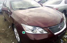 Used Lexus ES 350 Foreign 2008 Model Red