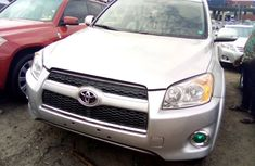 Toyota Rav4 2010 Model Foreign Used Silver for Sale