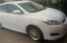 Nigeria Used Toyota Matrix 2011 Model White for Sale